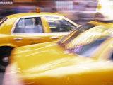 Taxis  New York City  USA
