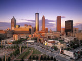 Downtown Skyline of Atlanta  Georgia  USA
