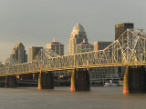 Clark Memorial Bridge  Louisville  Kentucky  USA