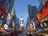 Manhattan Times Square  New York City  USA