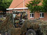 Members of a Recce of the Belgian Army