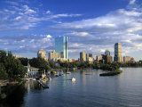 Back Bay  Boston  Massachusetts  USA