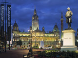 City Chambers  George Sq Glasgow  Scotland