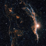 Witches Broom Nebula and Veil Nebula