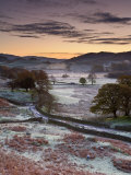 Frosty Morning  Little Langdale  Lake District  Cumbria  England