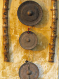 Gongs Hanging on a Wall  Vietnam