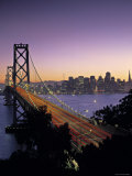 Oakland Bay Bridge  San Francisco  California  USA