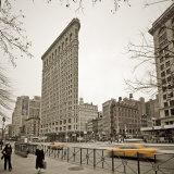 Flatiron Building  Fifth Avenue and Broadway  New York City  USA