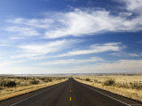 Road Near Marfa  West Texas  USA