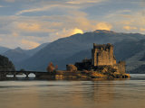 Eilean Donan Castle  Western Highlands  Scotland