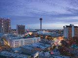 Downtown San Antonio  Texas  USA