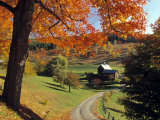 Fall Foliage  Vermont  USA