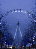 Millennium Wheel  South Bank  London  England