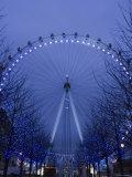 Millennium Wheel  South Bank  London  England