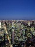 Manhattan Skyline  Manhattan  New York City  USA