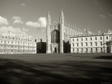 Kings College and Chapel  Cambridge  England