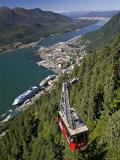 View from Mt Robert'S  Juneau  Alaska  USA