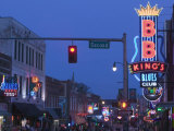 BB King's Club  Beale Street Entertainment Area  Memphis  Tennessee  USA