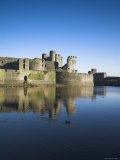 Caerphilly Castle  Caerphilly  Wales