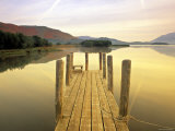 Derwent Water  Lake District  Cumbria  England