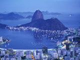 Rio de Janeiro and Sugar Loaf  Brazil