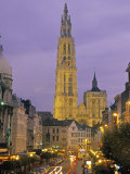 Cathedral at Antwerp  Belgium