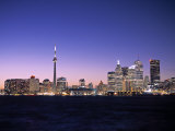 Skyline of Toronto  Ontario  Canada