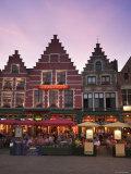 The Markt  Bruges  Flanders  Belgium