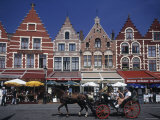 The Markt  Bruges  Belgium