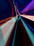 Abstract Color Streaks