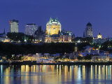 Chateau Frontenac  Quebec City  Quebec  Canada