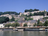 River Meuse and Citadel  Namur  Belgium