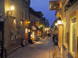 Rue de Petit  Champlain  Quebec City  Quebec  Canada