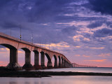 Confederation Bridge  Borden-Carleton  Prince Edward Island  Canada
