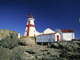 East Quoddy Head Lighthouse  Campobello Island  New Brunswick  Canada