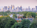 Skyline of Melbourne  Victoria  Australia