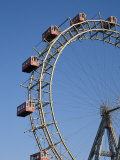 Giant Ferris Wheel  Prata Amusement Park  Vienna  Austria