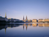 Alster River  Hamburg  Germany