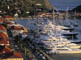 Yacht Harbour  Gustavia  St Barts  French West Indes