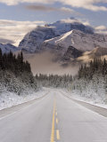 The Icefields Parkway  Banff-Jasper National Parks  Rocky Mountains  Canada