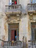 Balconies  Havana  Cuba