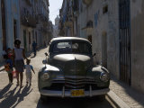 1950s American Car  Havana  Cuba