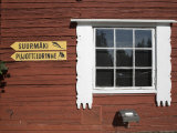Building and Ski Jump Directions  Puijo Hill  Kaupio  Eastern Lakeland  Finland