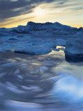 Icebergs  Disko Bay  Greenland