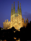 La Familia Cathedral  Barcelona  Spain