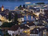 Luzern Skyline  Switzerland