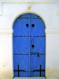 Blue Door  Karaman Village  Northern Cyprus