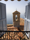 Church Bell Tower  Eze  French Riviera  Cote d'Azur  France