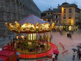 Carousel  Segovia  Castilla Y Leon  Spain