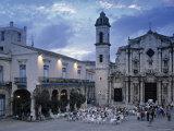 Cathedral Plaza  Havana  Cuba